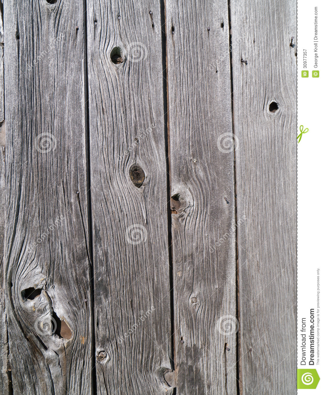 Vertical Barnwood Boards Royalty Free Stock Photography