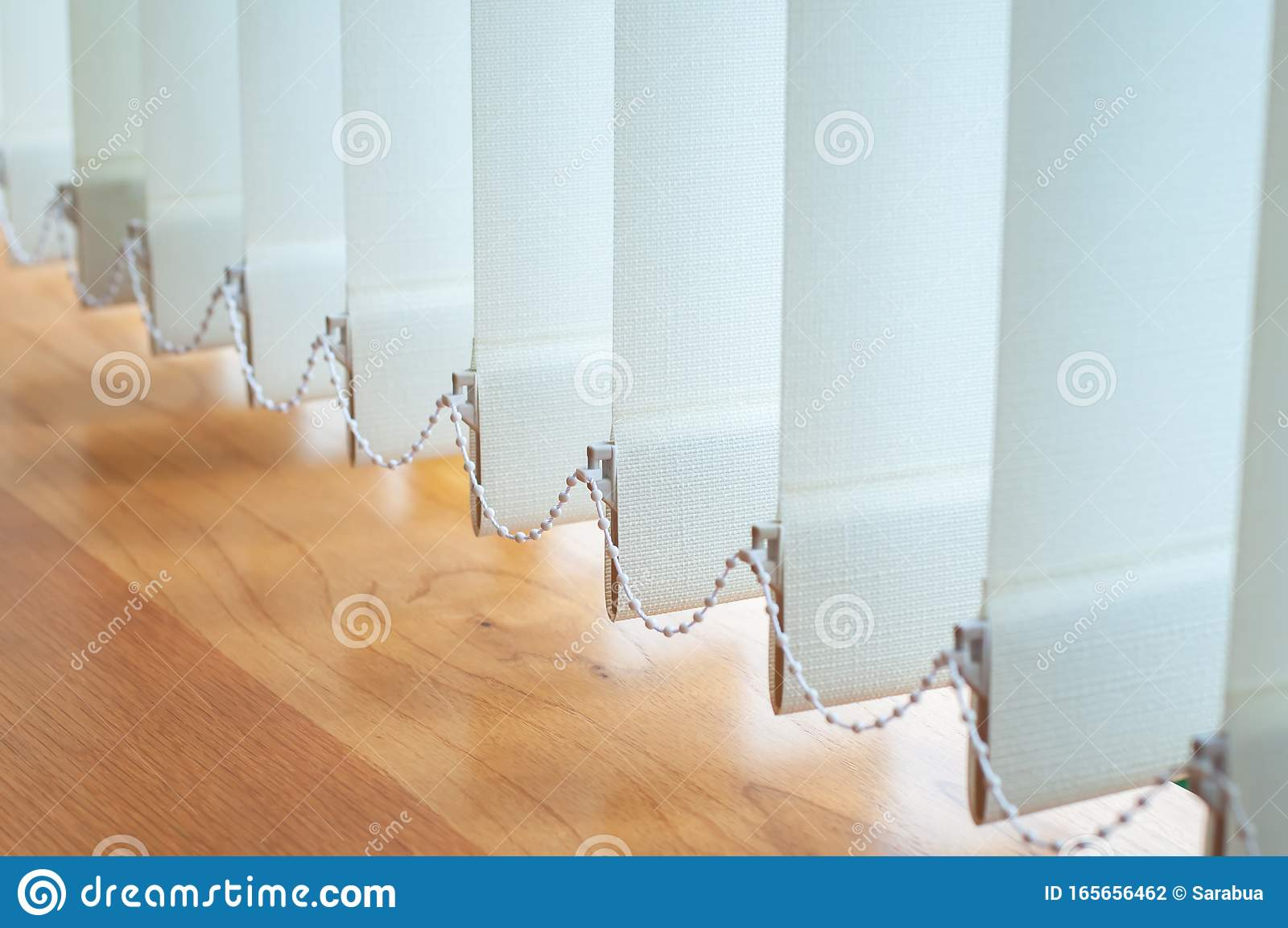 Vertical Blind For The Office Room Decoration Stock Photo Image Of Frame Pattern 165656462