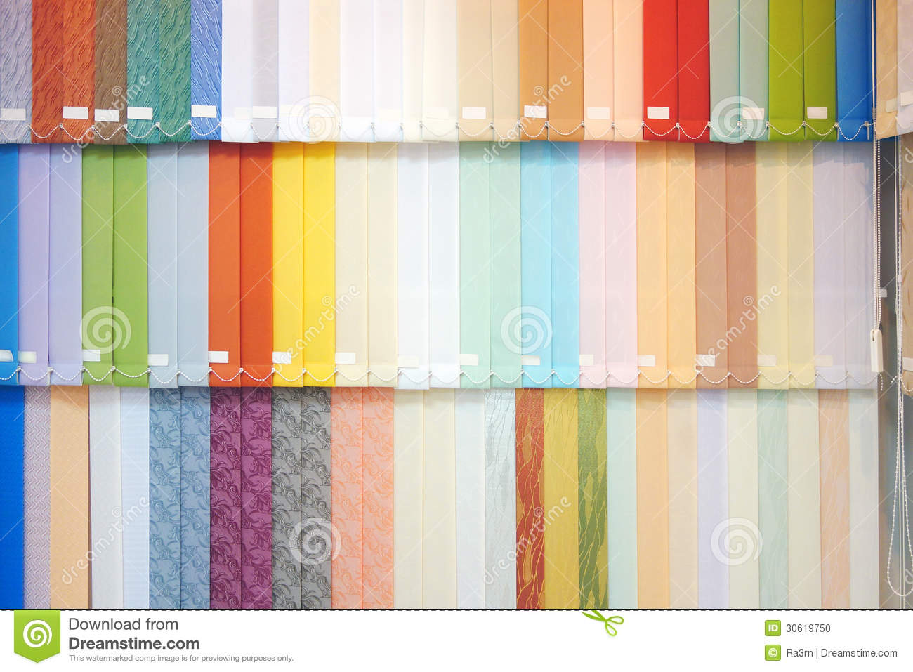 Vertical Blinds Stock Photo Image 30619750