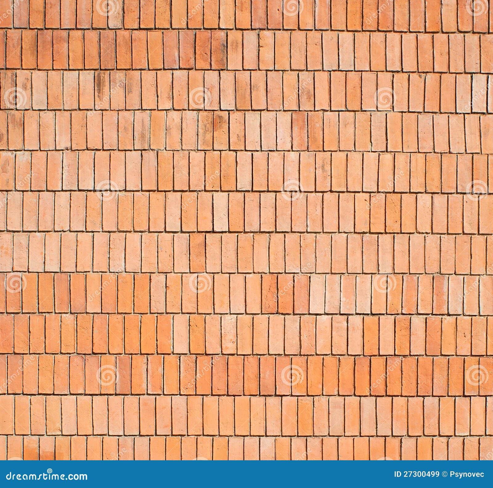 Vertical Brick Wall Accents Wall Decal: Vertical Bricks Stock Image. Image Of Masonry