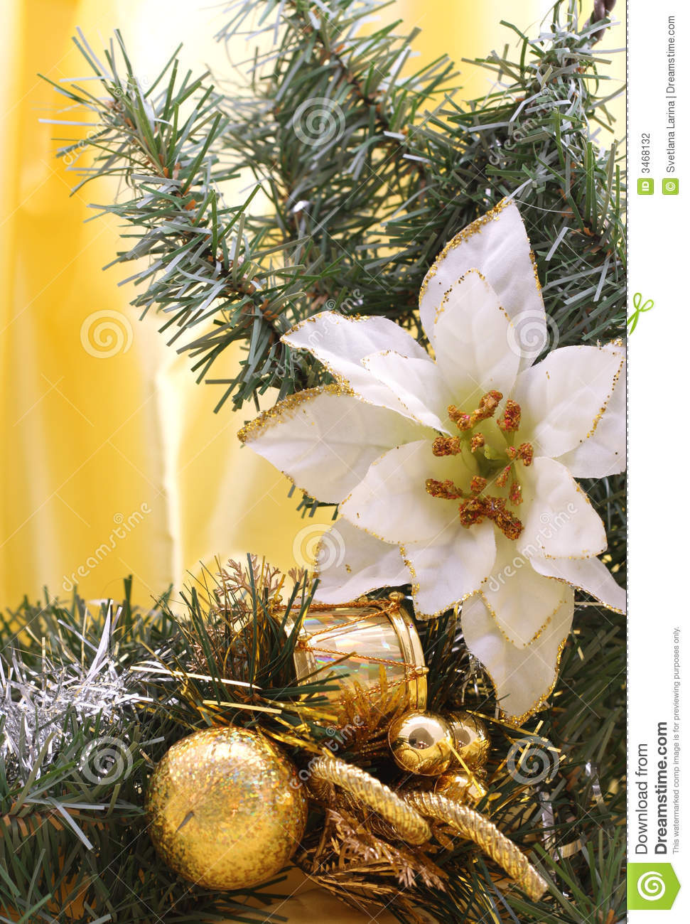 vertical christmas border stock photography image 3468132
