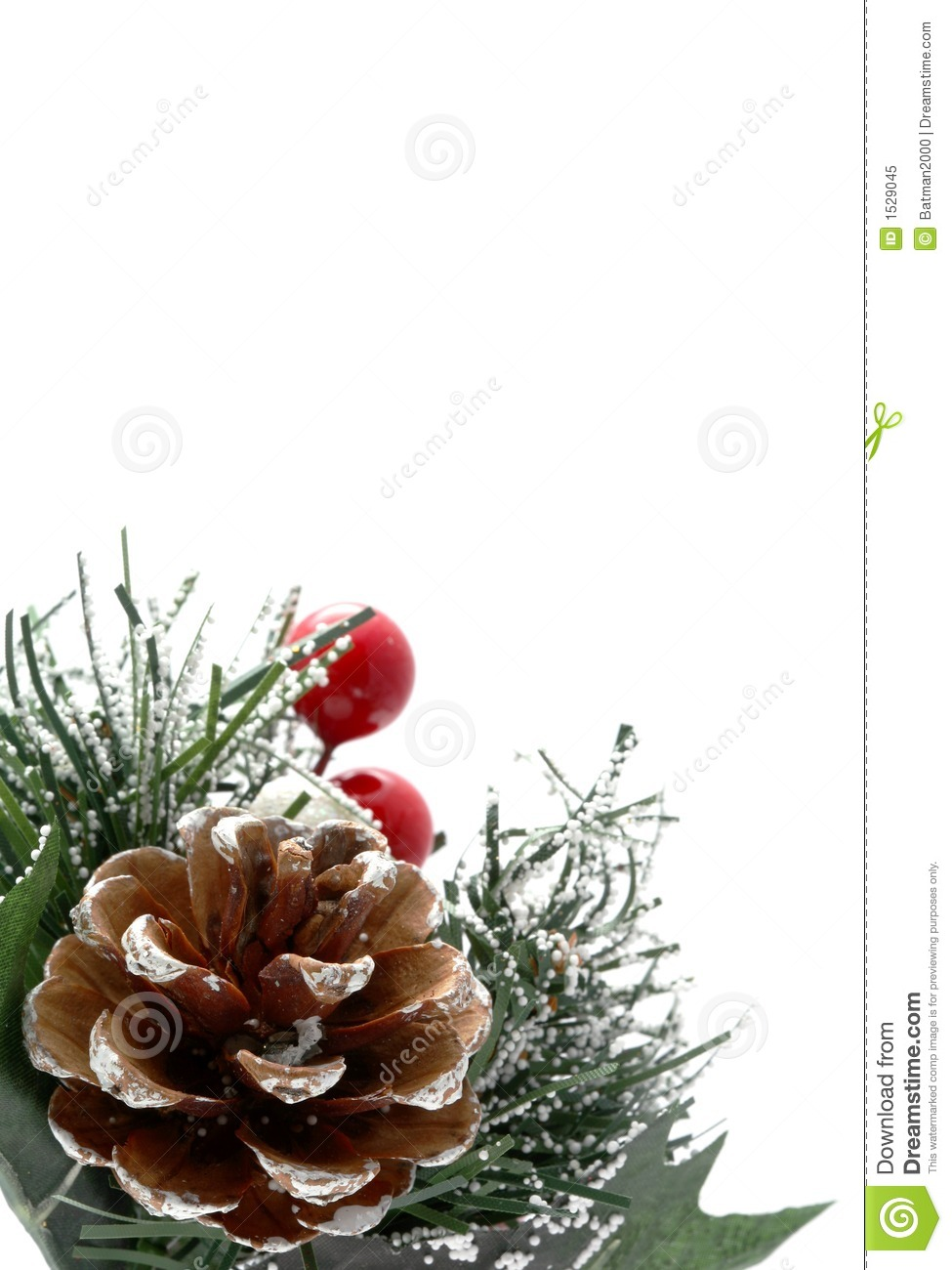 Vertical christmas design stock image of holidays