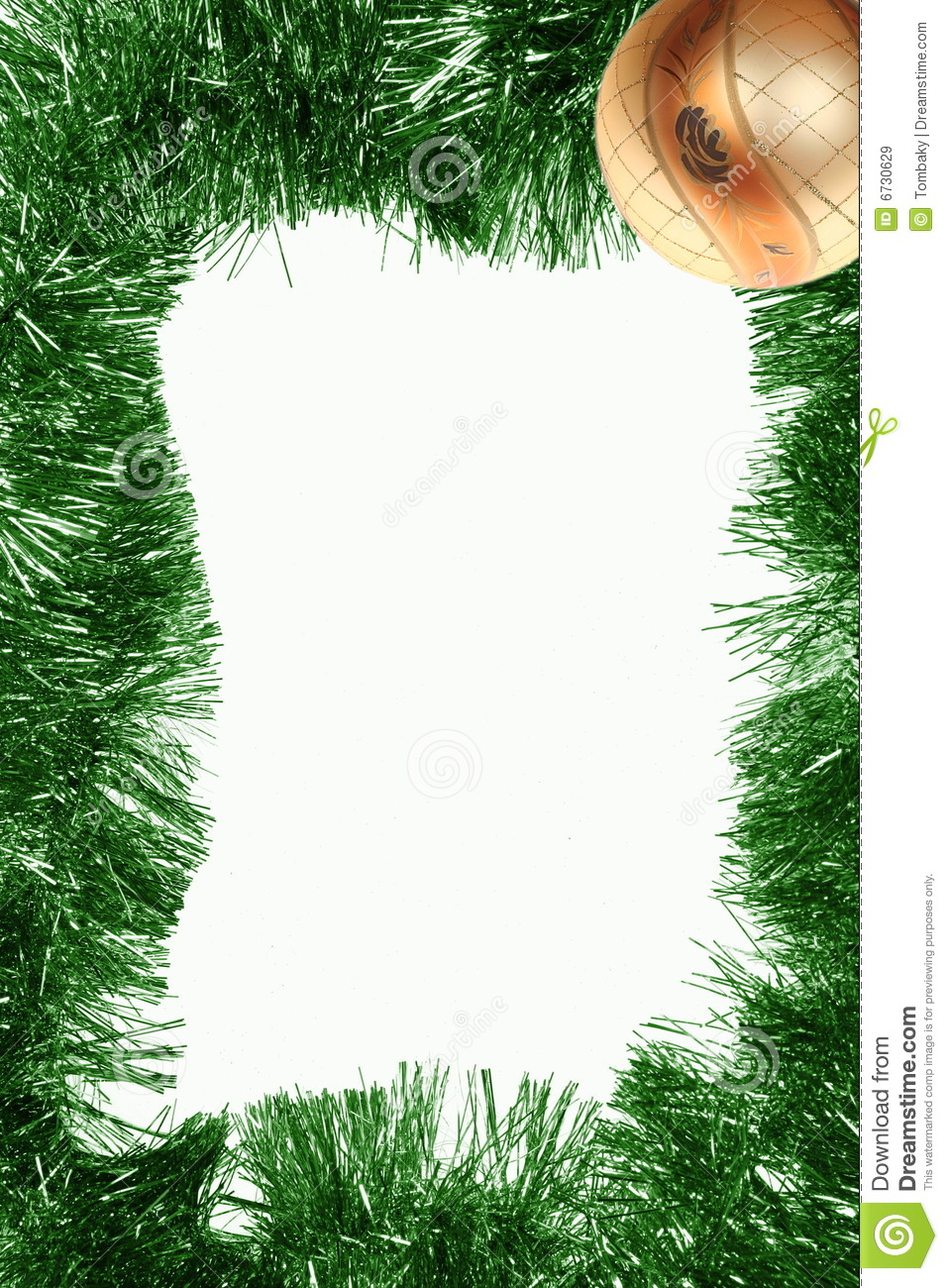 Vertical Christmas Frame Royalty Free Stock Images - Image: 6730629