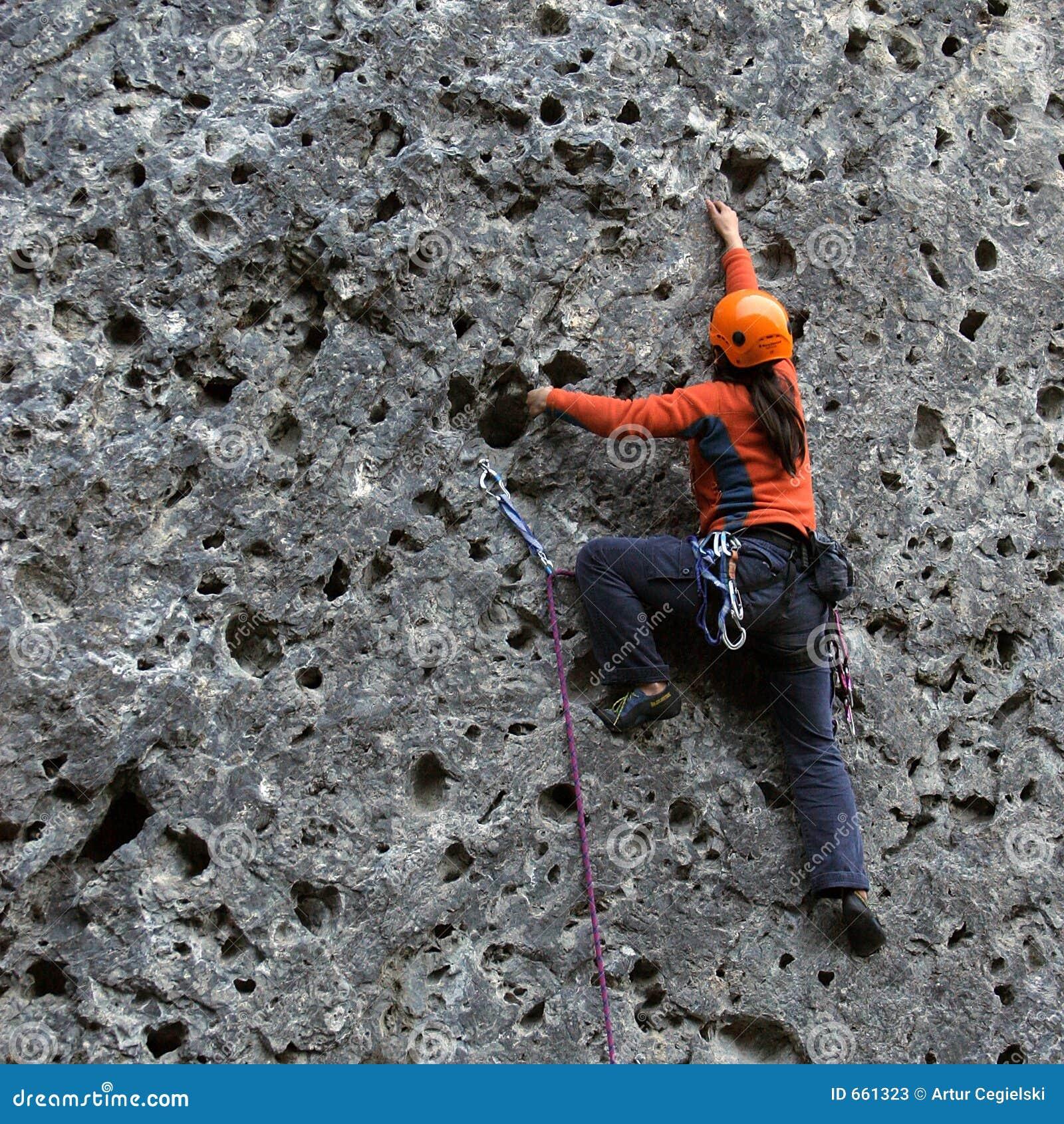 Vertical climbing