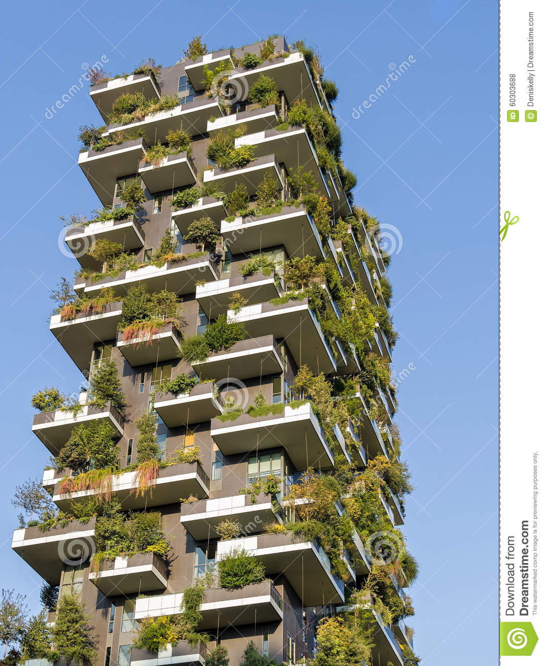 vertical forest towers sustainable green architecture stock photo image of milan nature. Black Bedroom Furniture Sets. Home Design Ideas