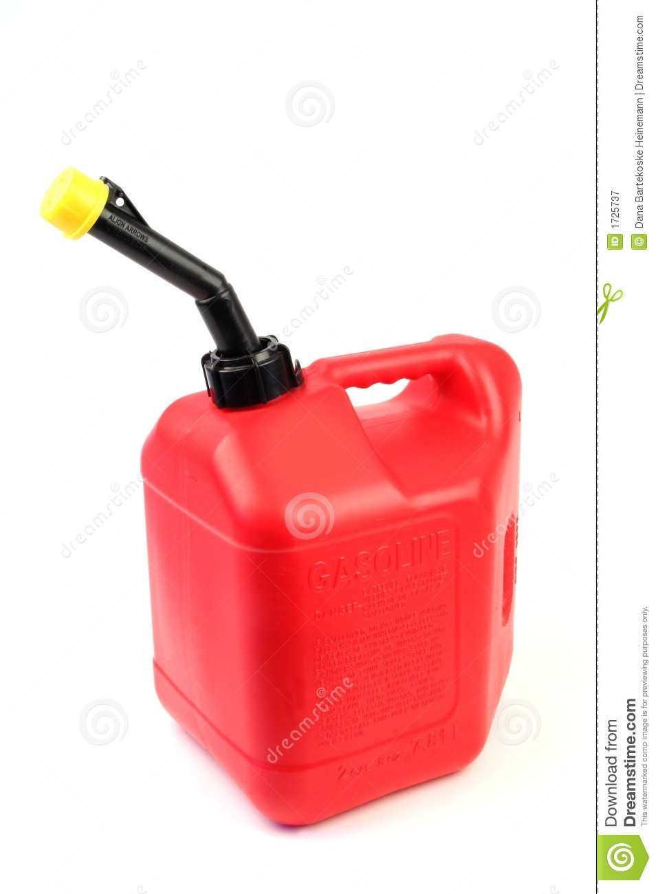 Vertical Gas Can