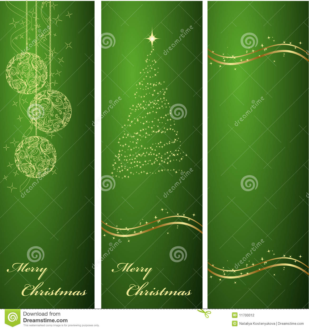 vertical green christmas backgrounds