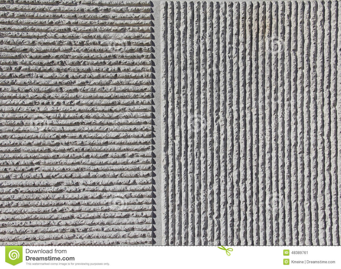 Form And Texture : Vertical horizontal concrete peaks valley background stock