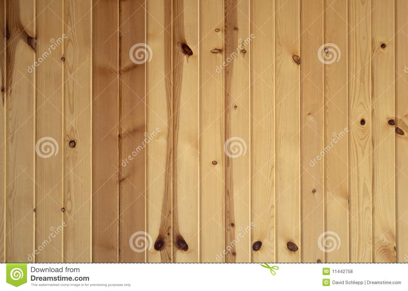 Vertical Knotty Pine Boards Stock Photo Image 11442758