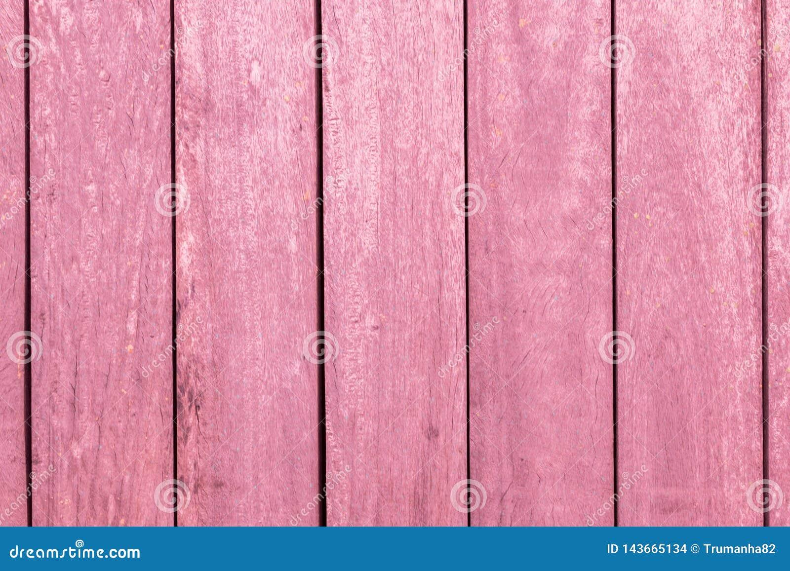 Vertical Pink Wooden Bars Texture Background
