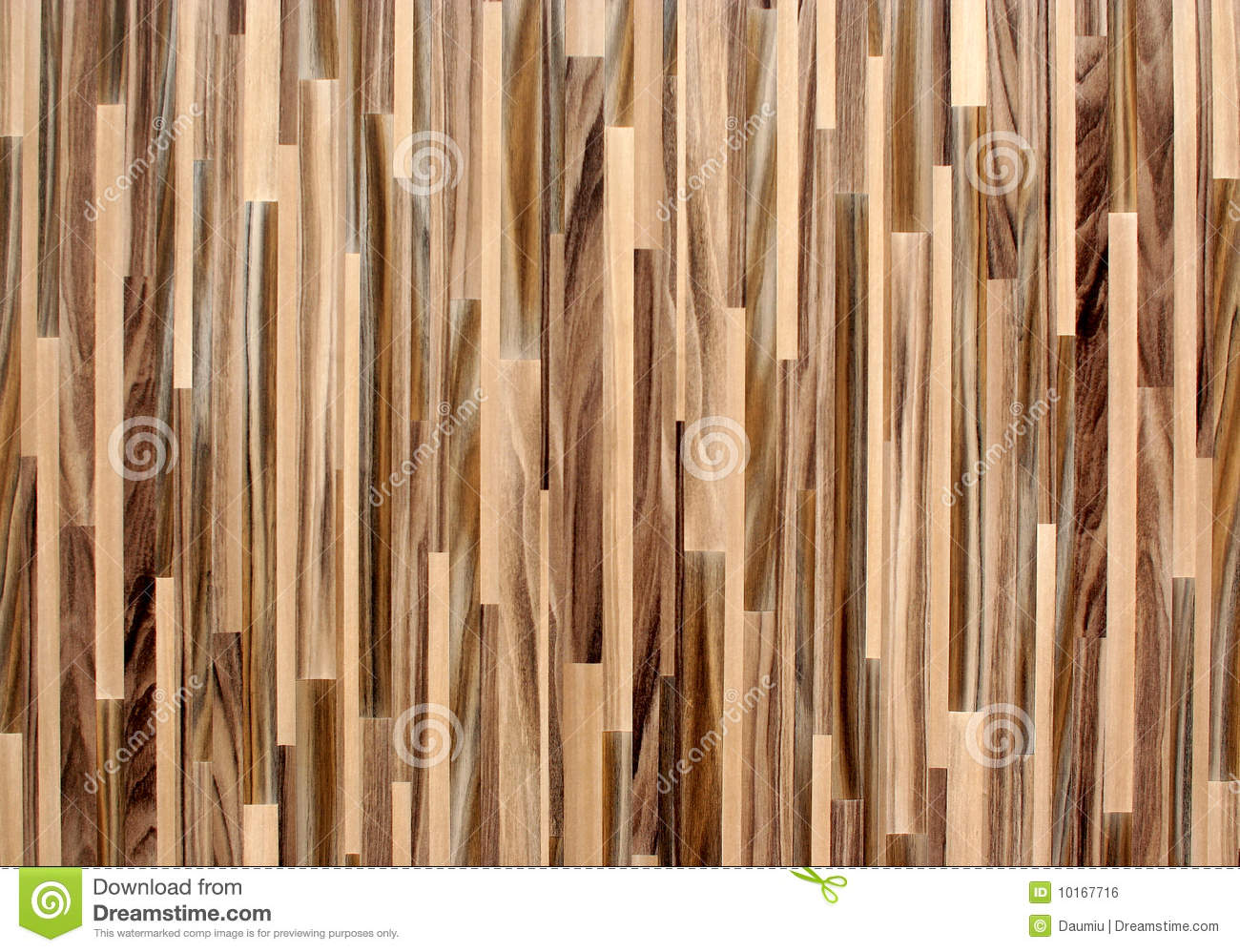 Vertical Striped Wood Texture Royalty Free Stock Image