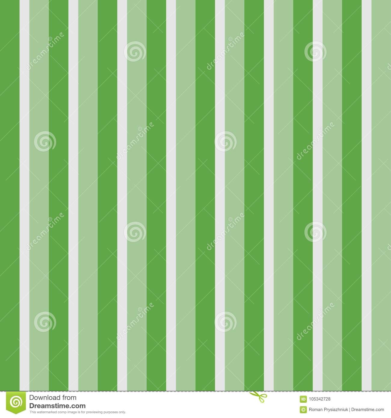 Vertical Stripes Seamless Pattern Green Striped Wallpaper The Background Of Lines Vector