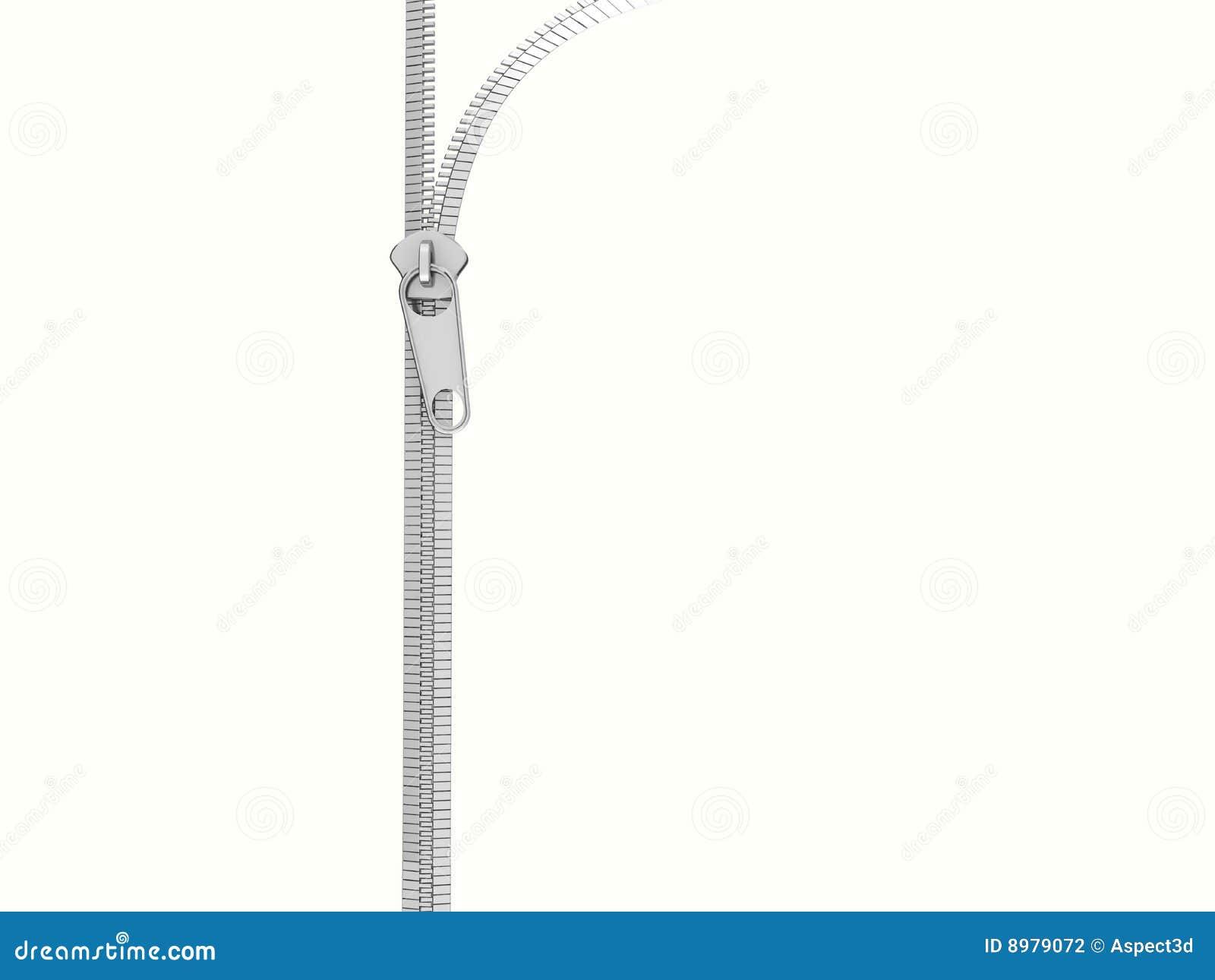 Zip Clipart Vertical zip opening
