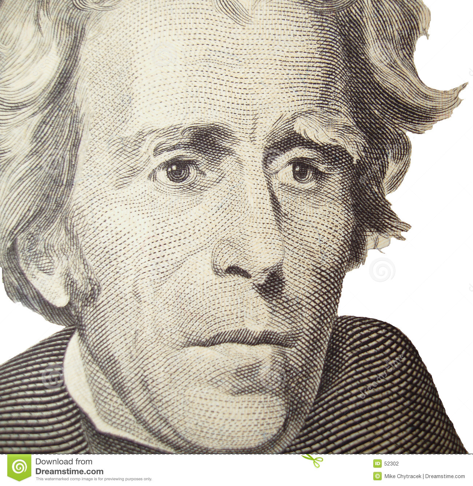 Verticale d Andrew Jackson