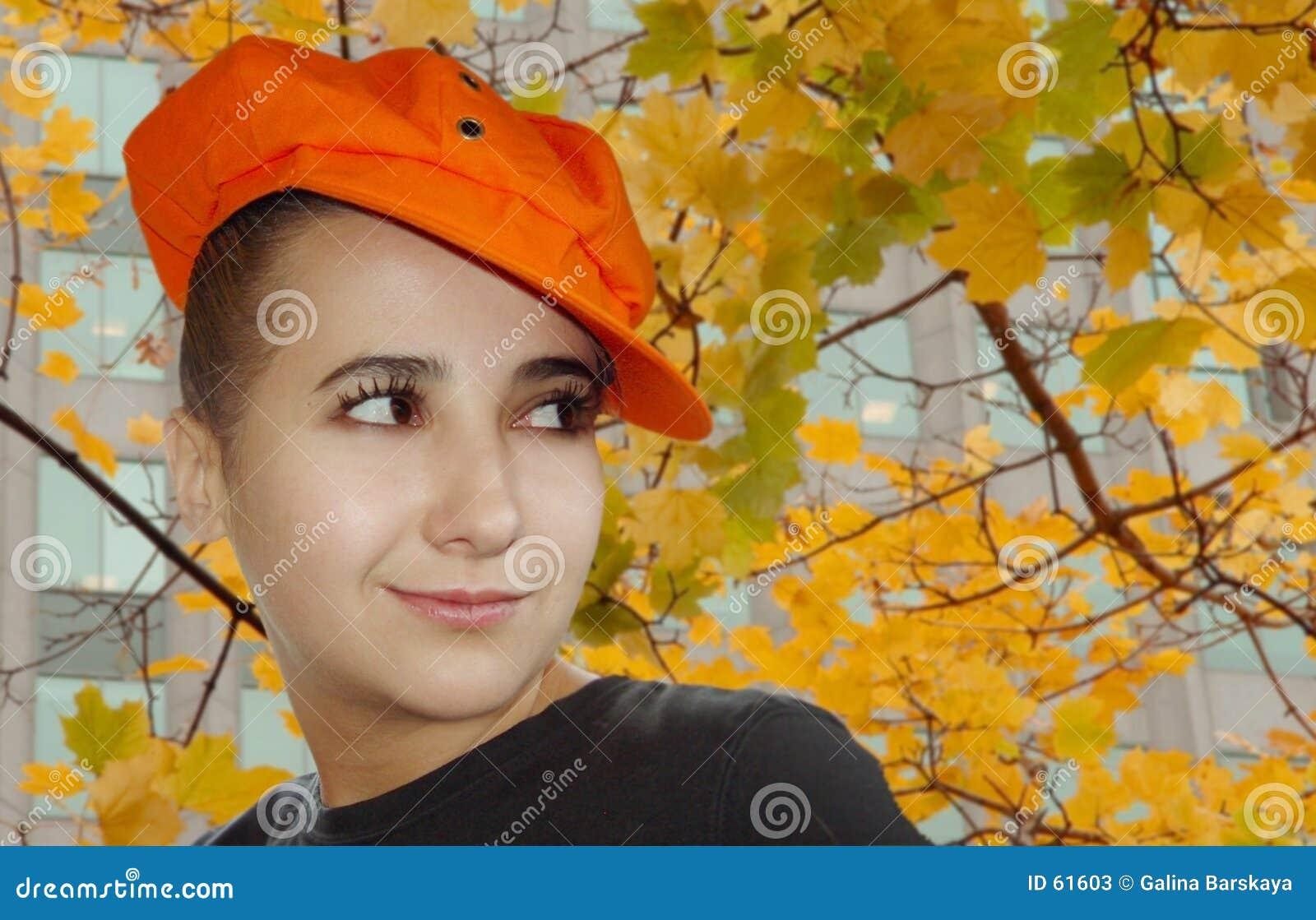 Download Verticale d'automne image stock. Image du lames, attrayant - 61603