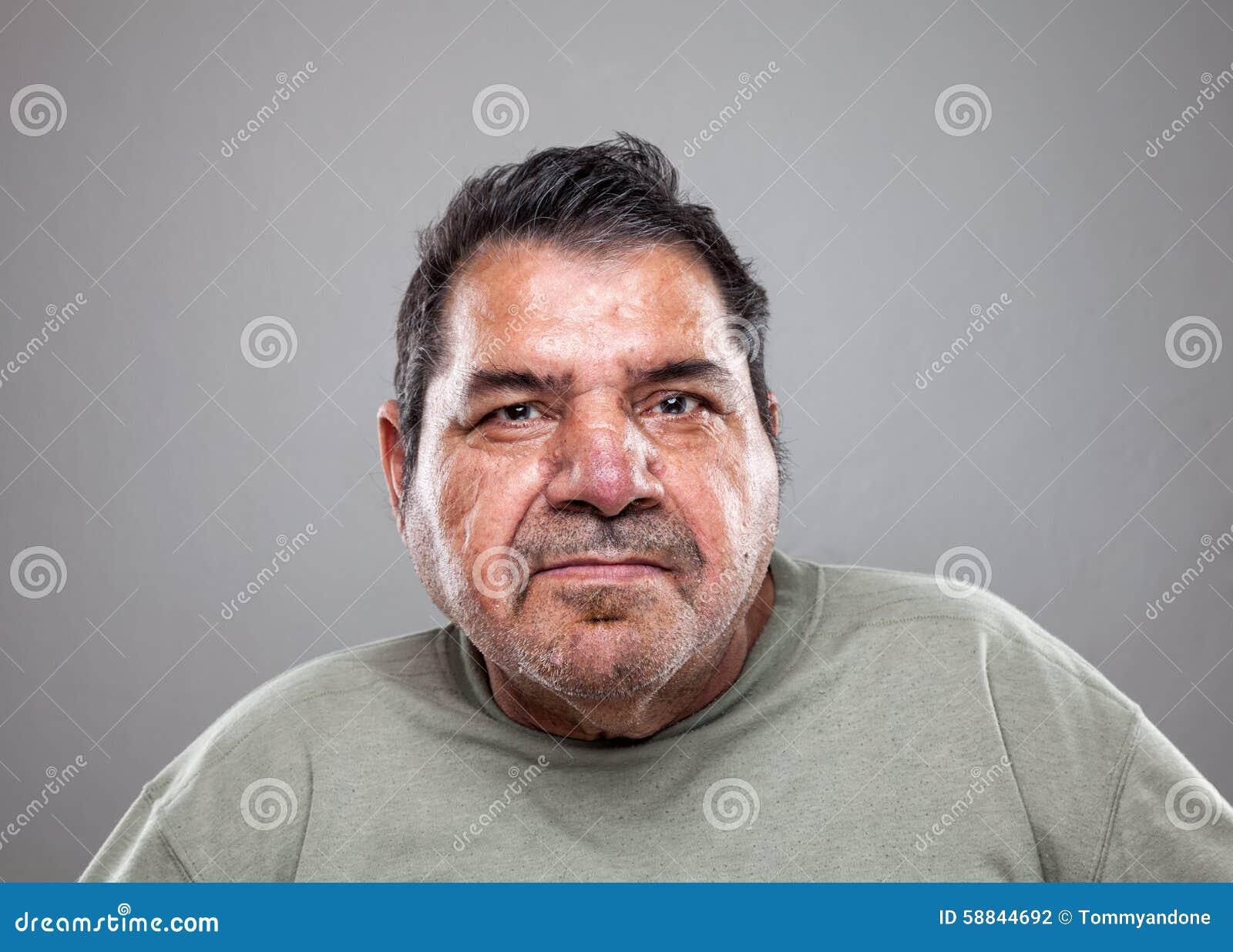 Verticale d un vieil homme