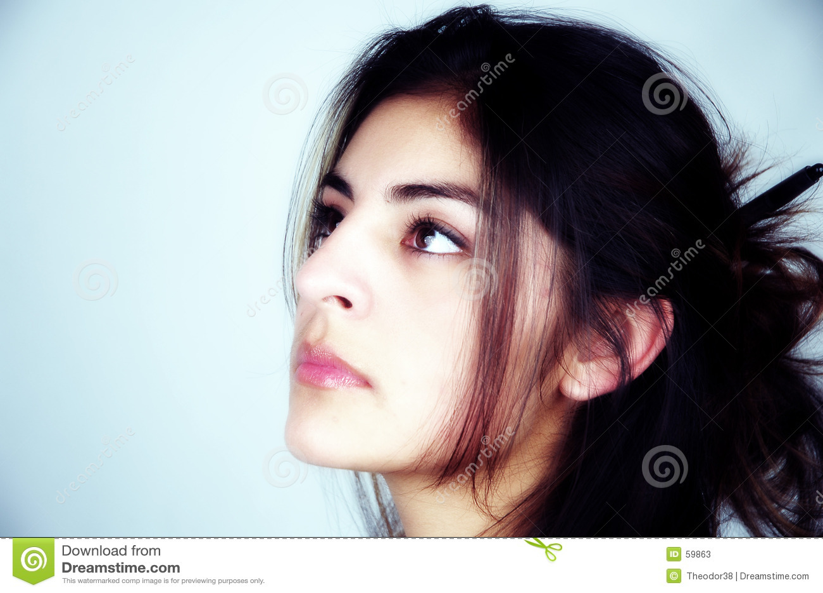 Download Verticale de femme image stock. Image du verticale, femme - 59863