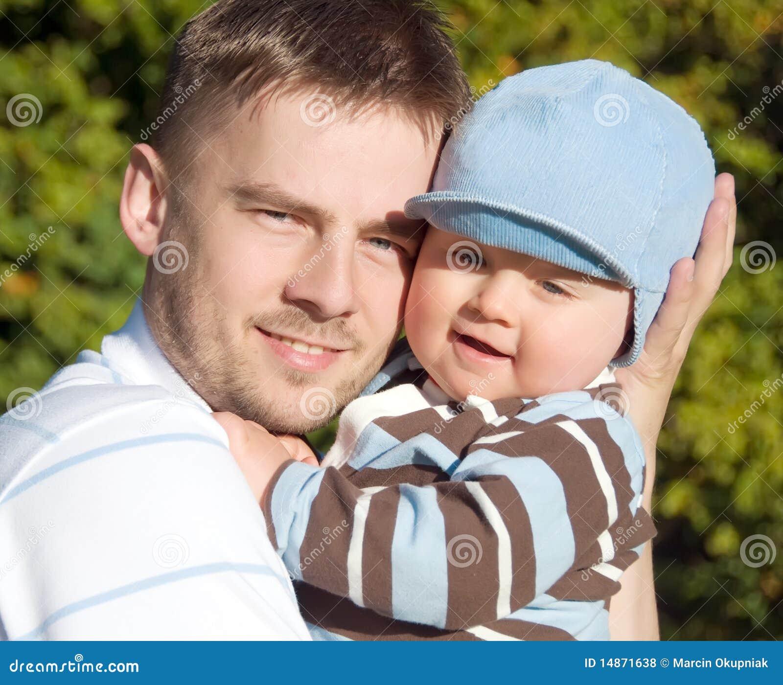 Verticale de père et de fils