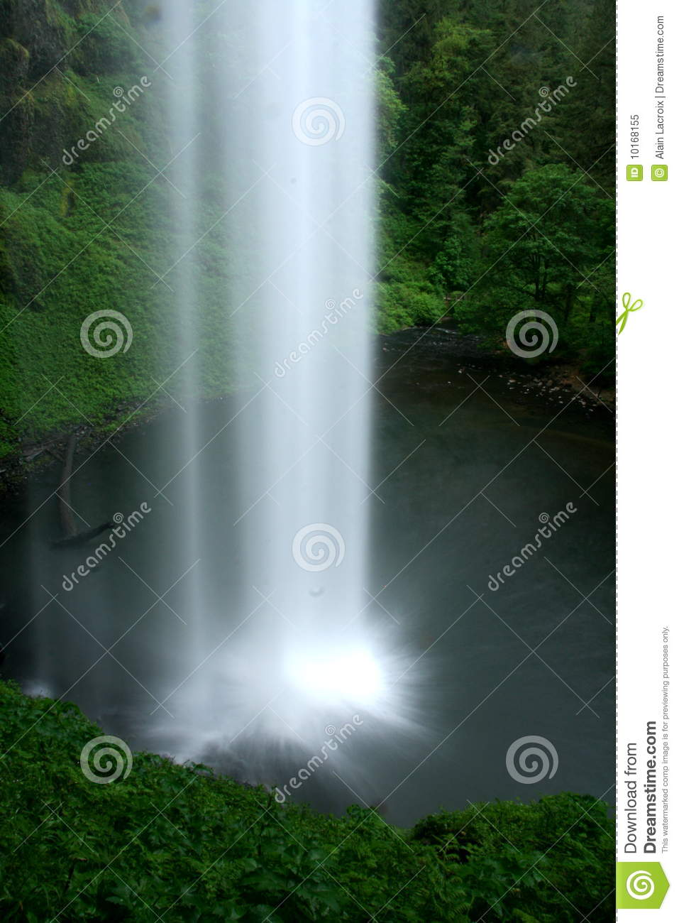 Verticale waterval