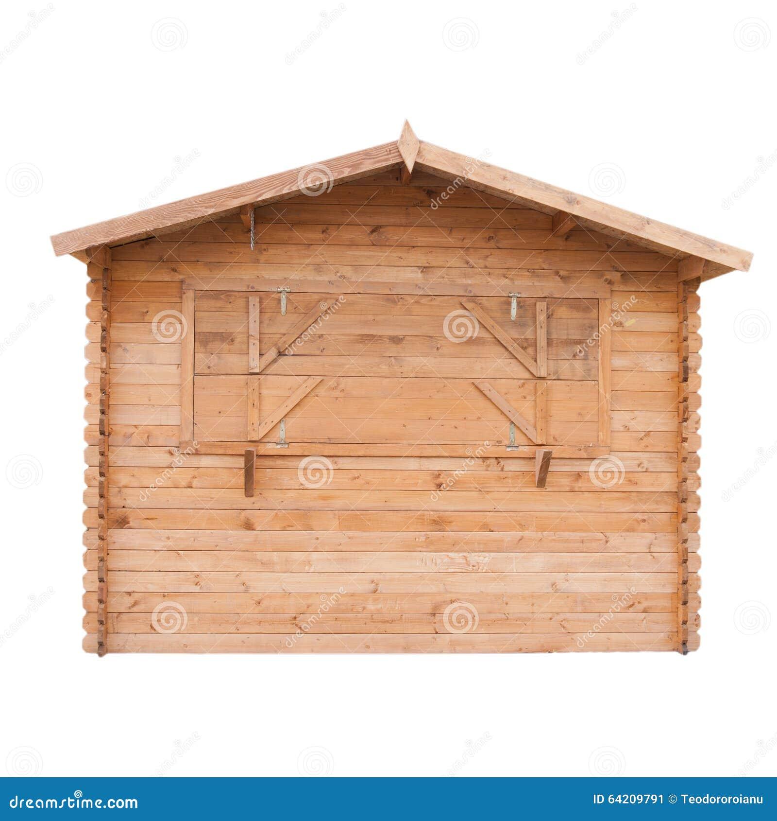 Vertiente de madera