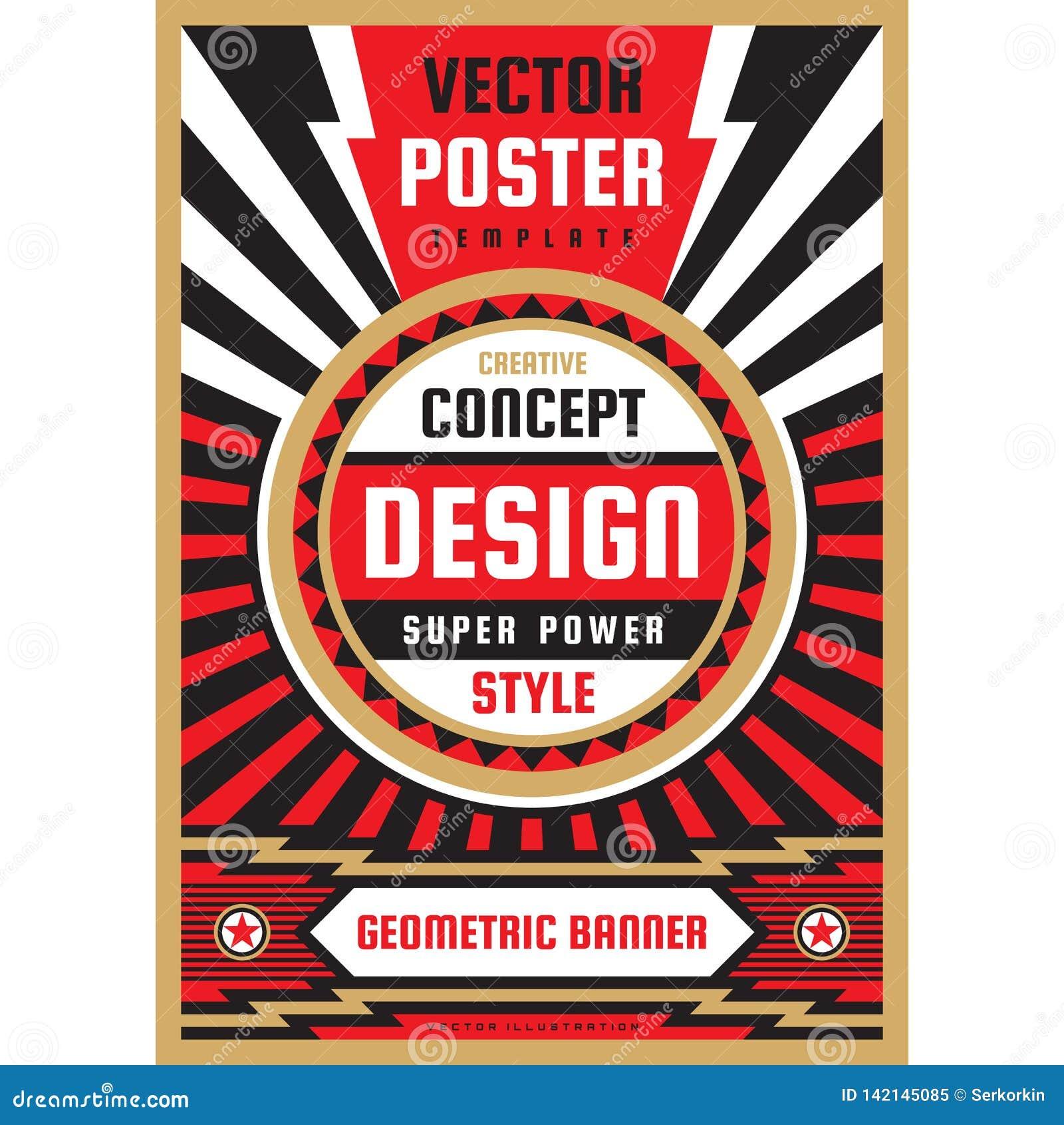 Vertikal konstaffischmall i tung maktstil Vertikalt baner för nationell patriotismfrihet Orientering för grafisk design musik