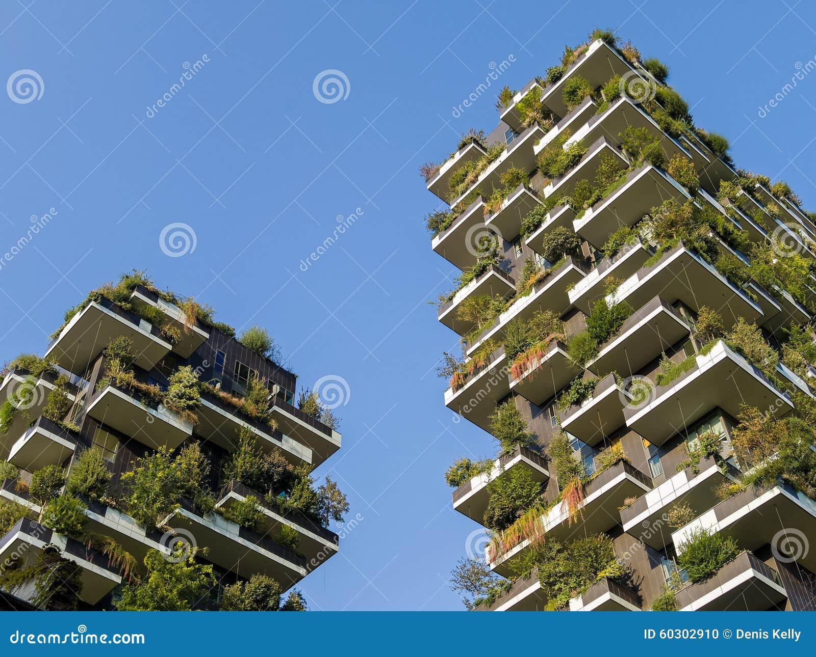 Vertikala Forest Towers i Milan Italy