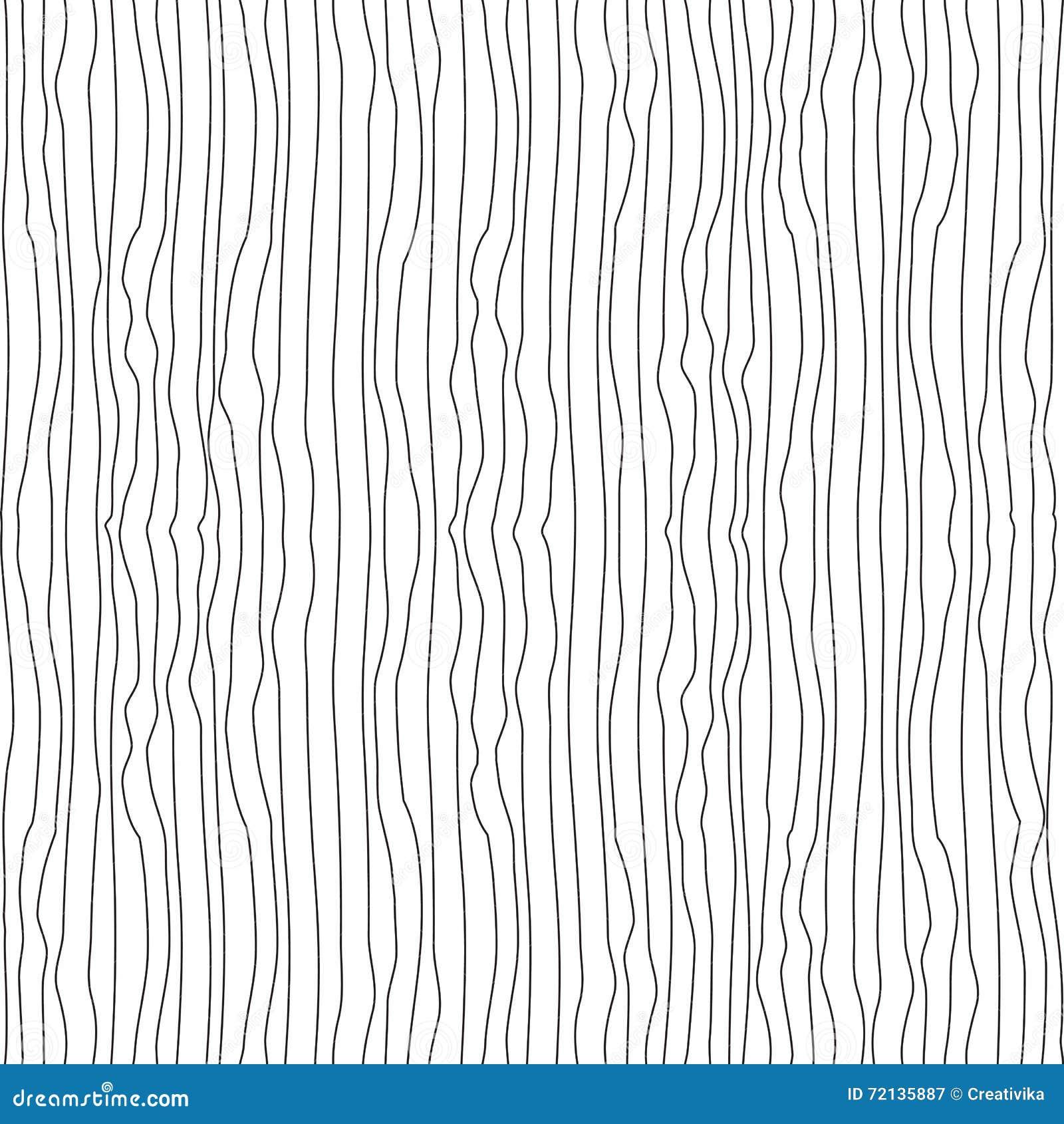 Vertikale gewellte dünne ungleiche Linien nahtloses Muster