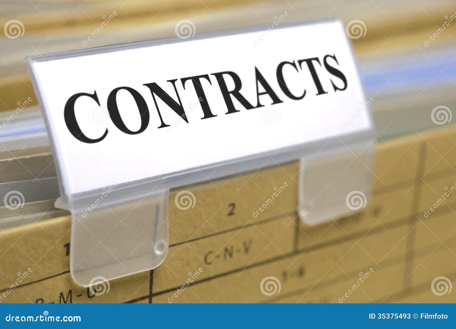 Verträge und Dokumente