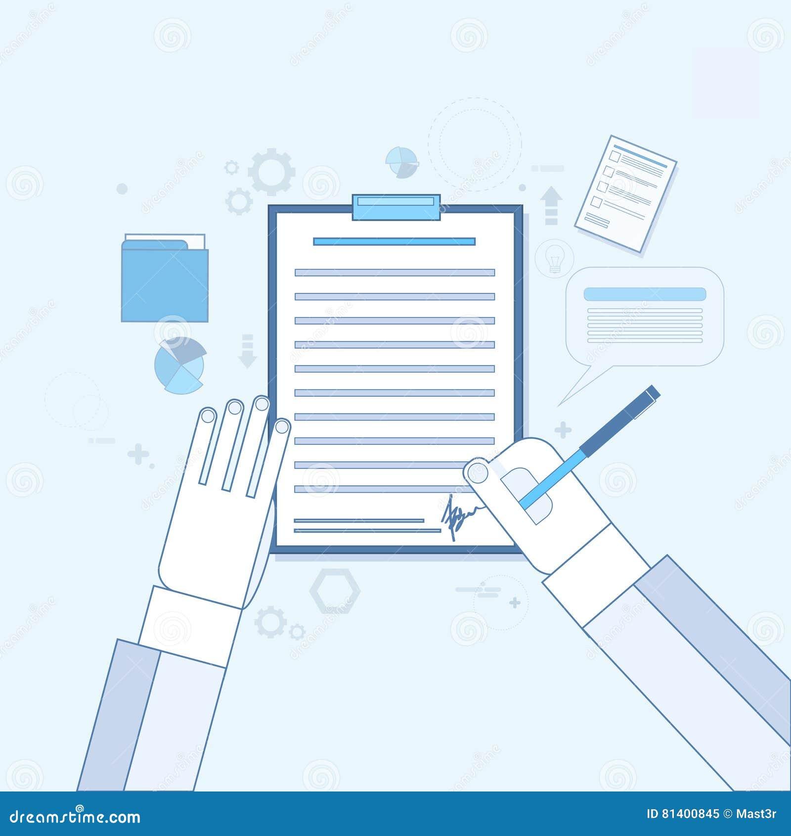 Vertrag Erkennen Papierdokumenten Geschäfts Vereinbarung Pen