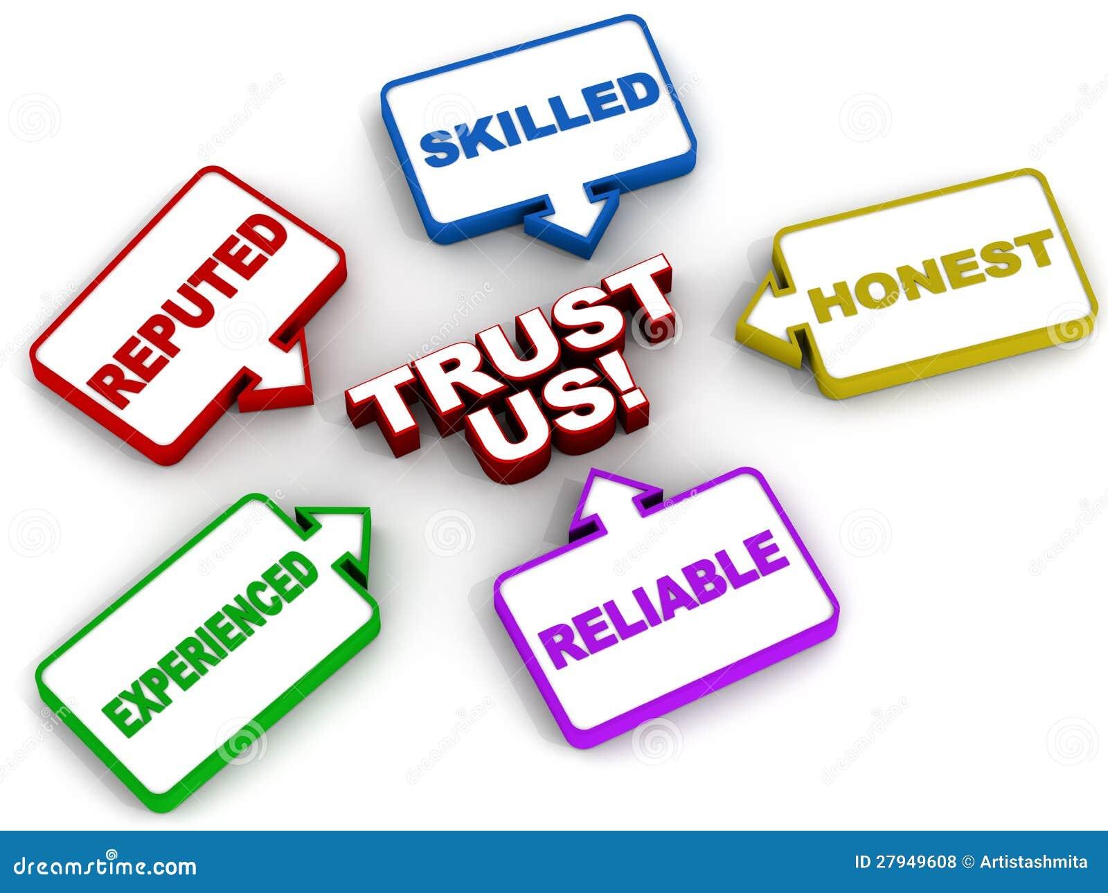 Vertrauen Sie uns
