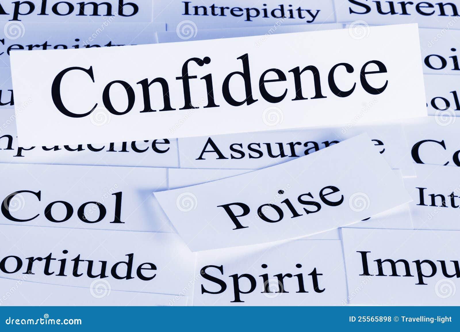 Vertrauens-Konzept