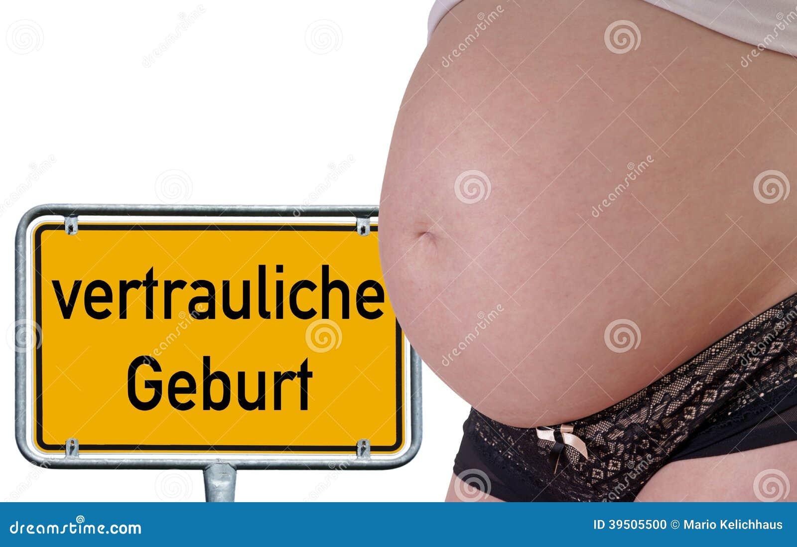 Vertrauliche Geburt