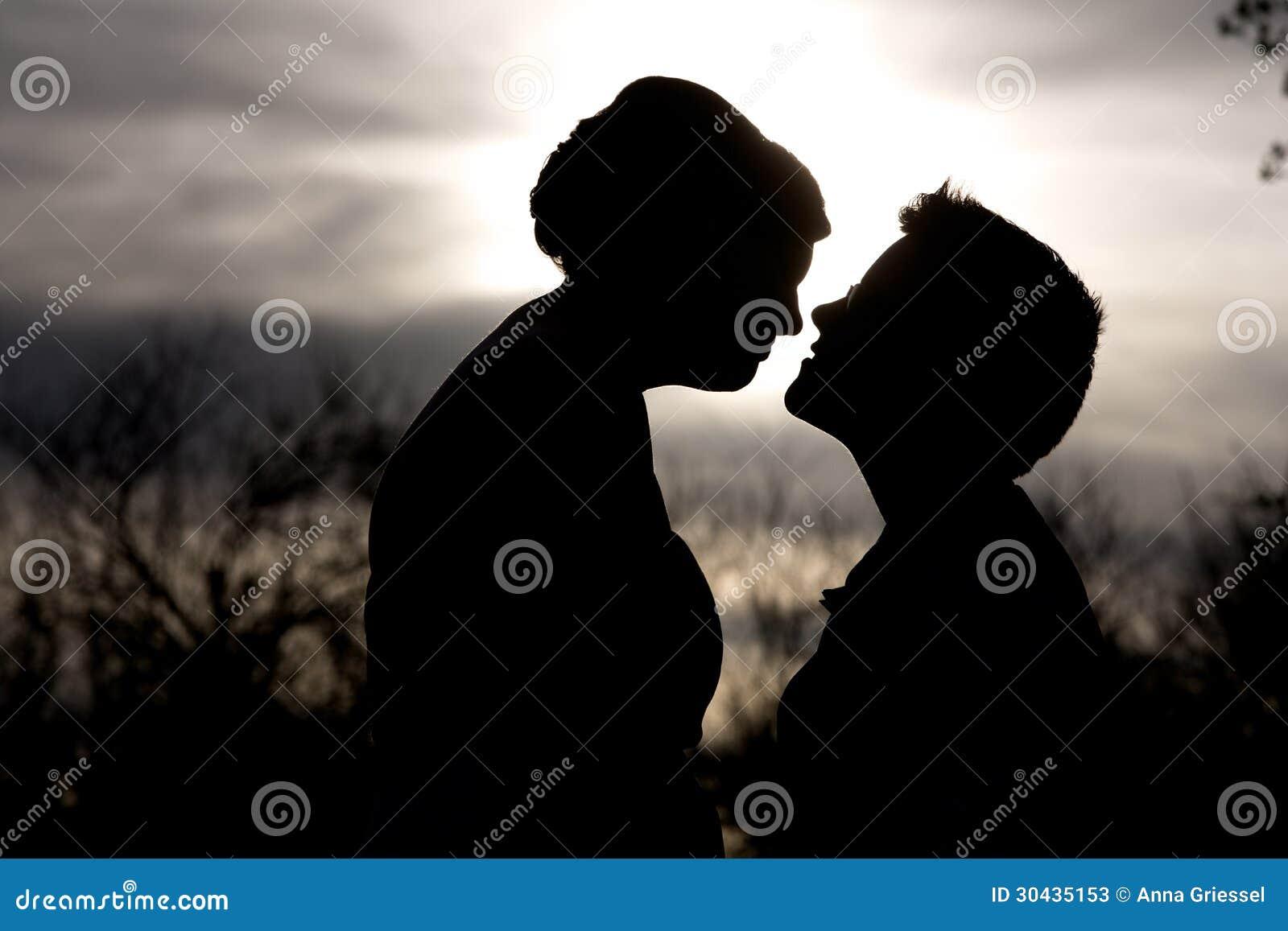 Vertrouwelijk Paarsilhouet