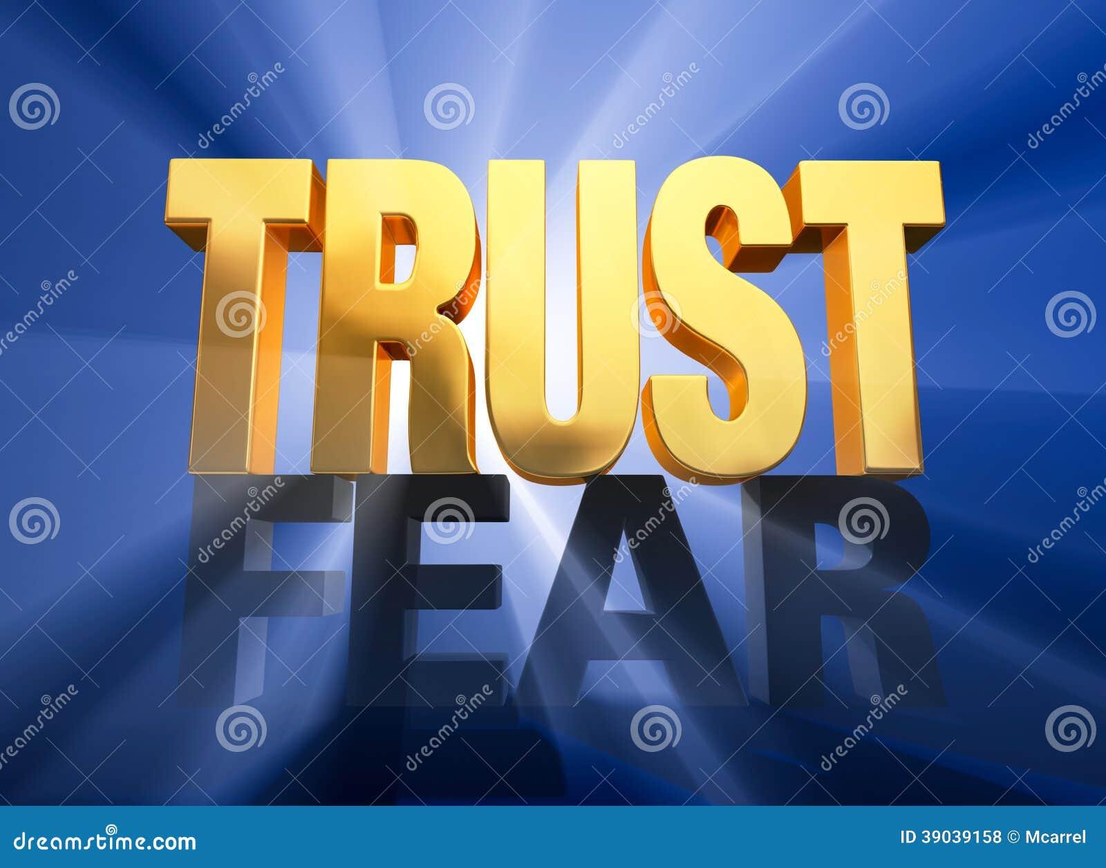 Vertrouwenstriomfen over Vrees