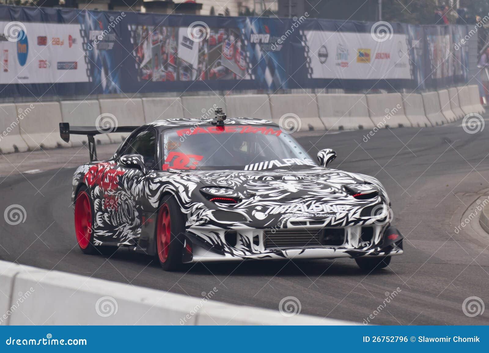 Verva Street Racing 2012 - Racing Car Editorial Photo - Image of ...