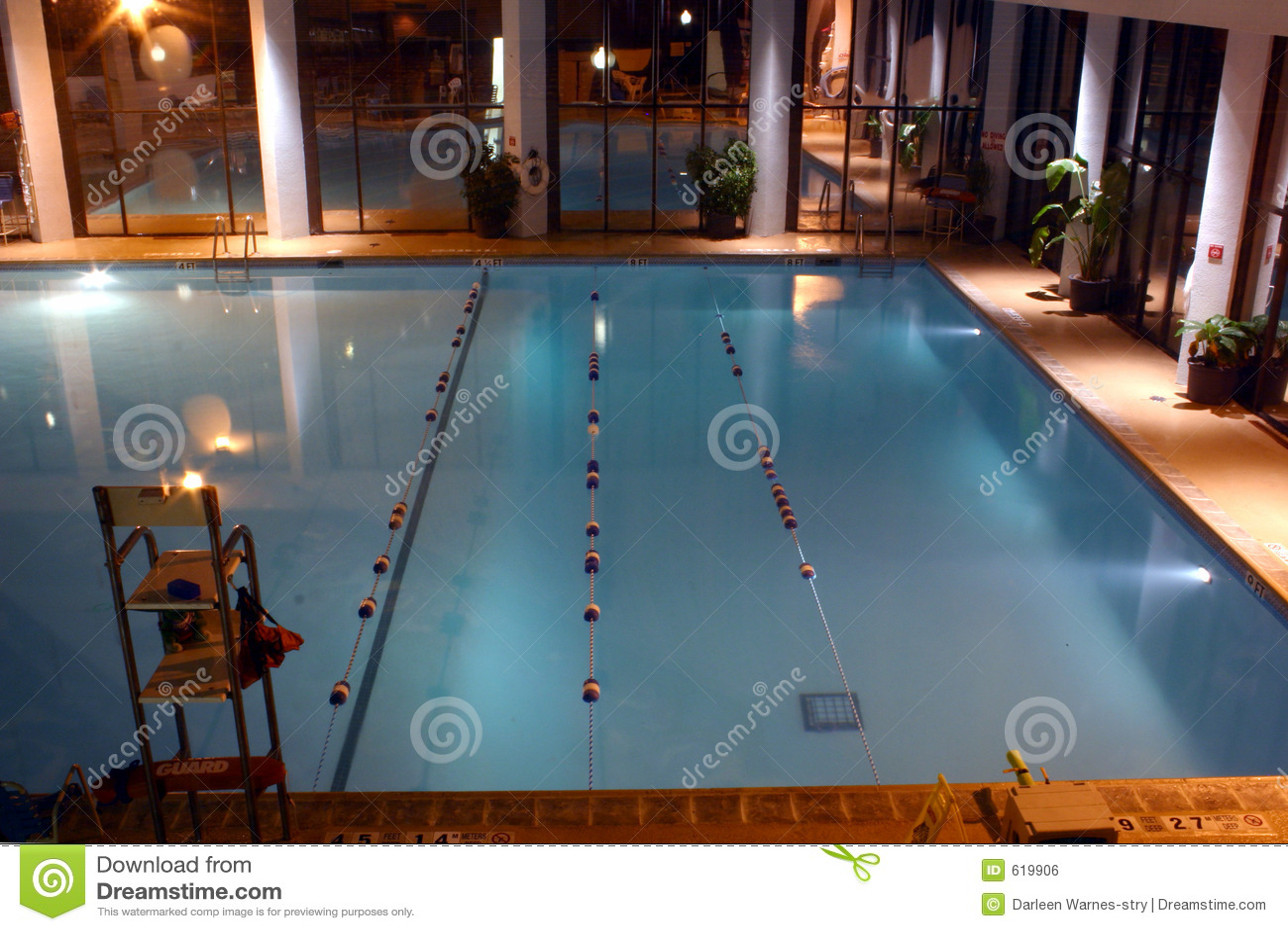 Verwarmde Pool