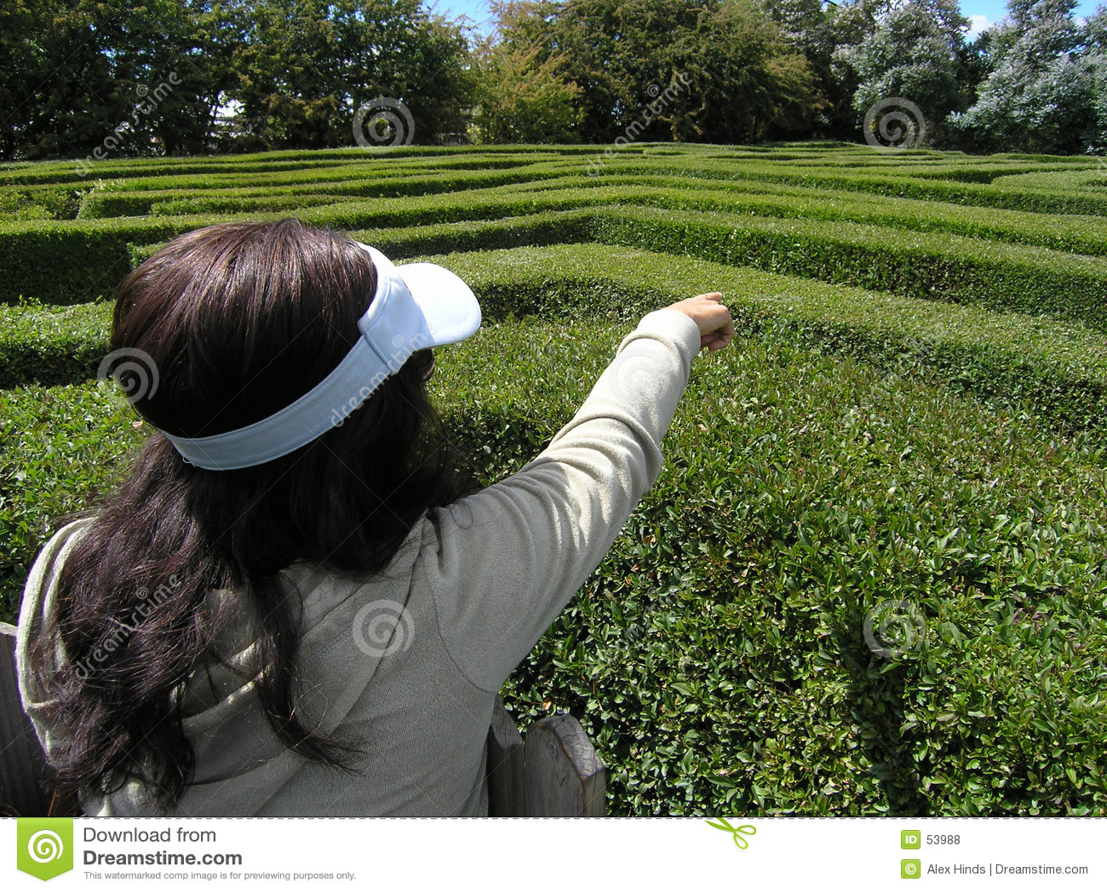 In verwarring brengend labyrint