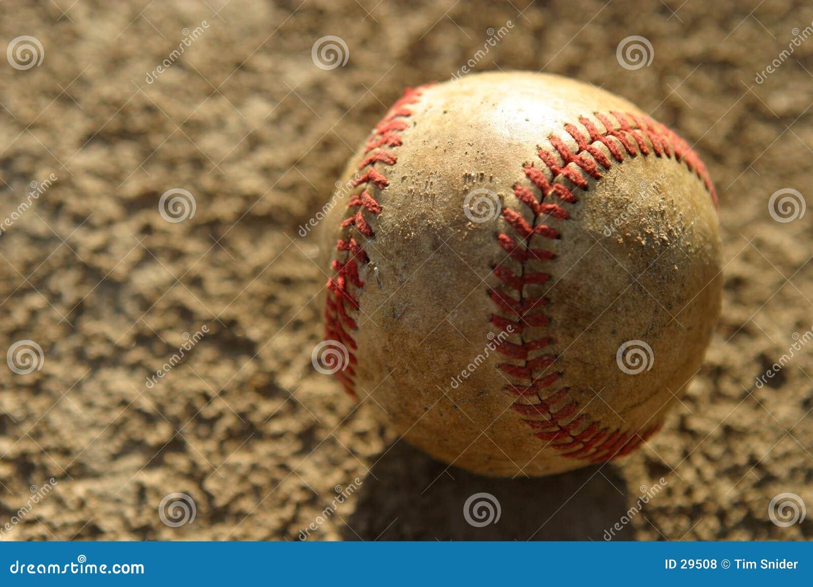 Verwendeter Baseball