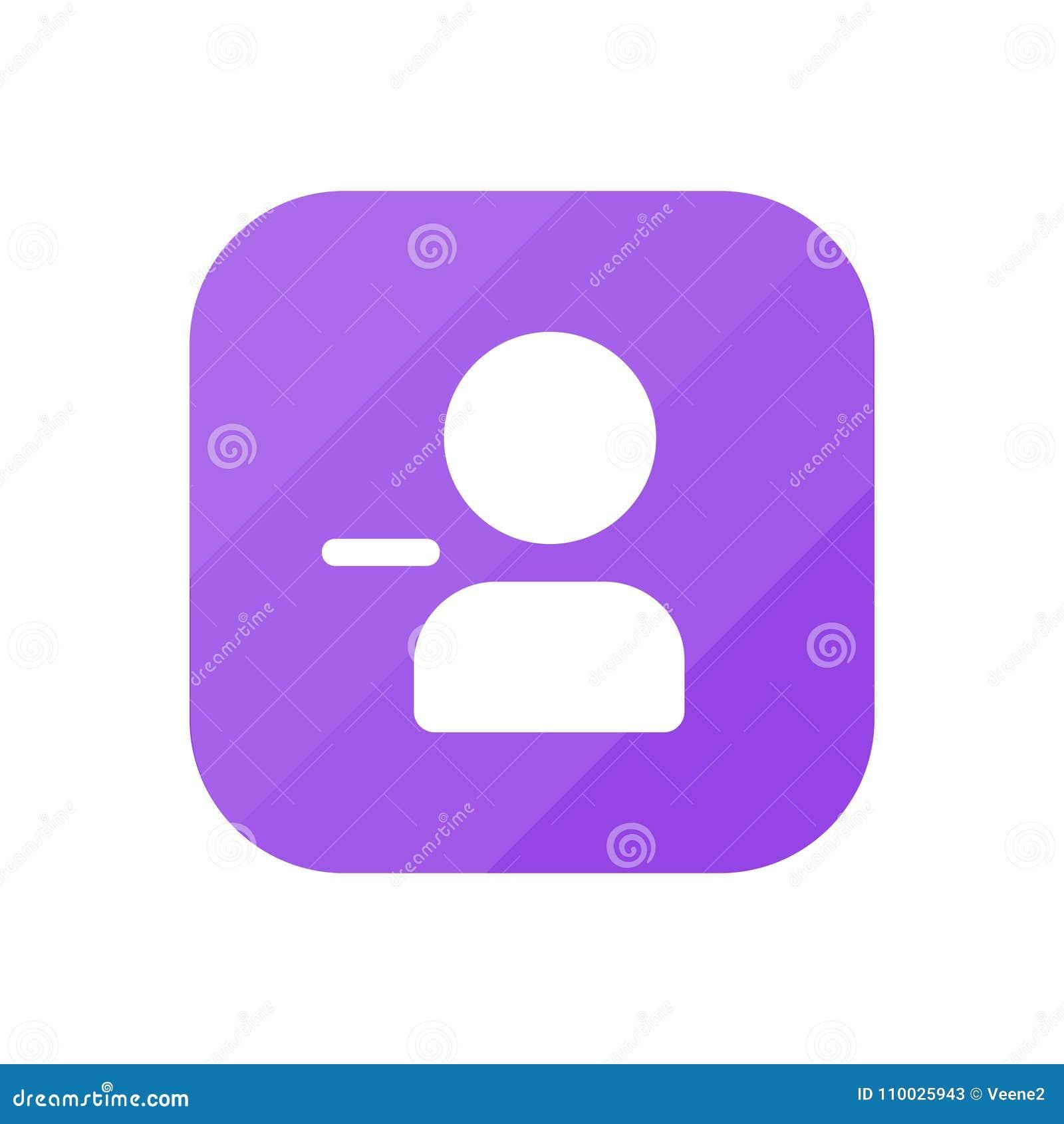 Verwijder Gebruiker - App Pictogram