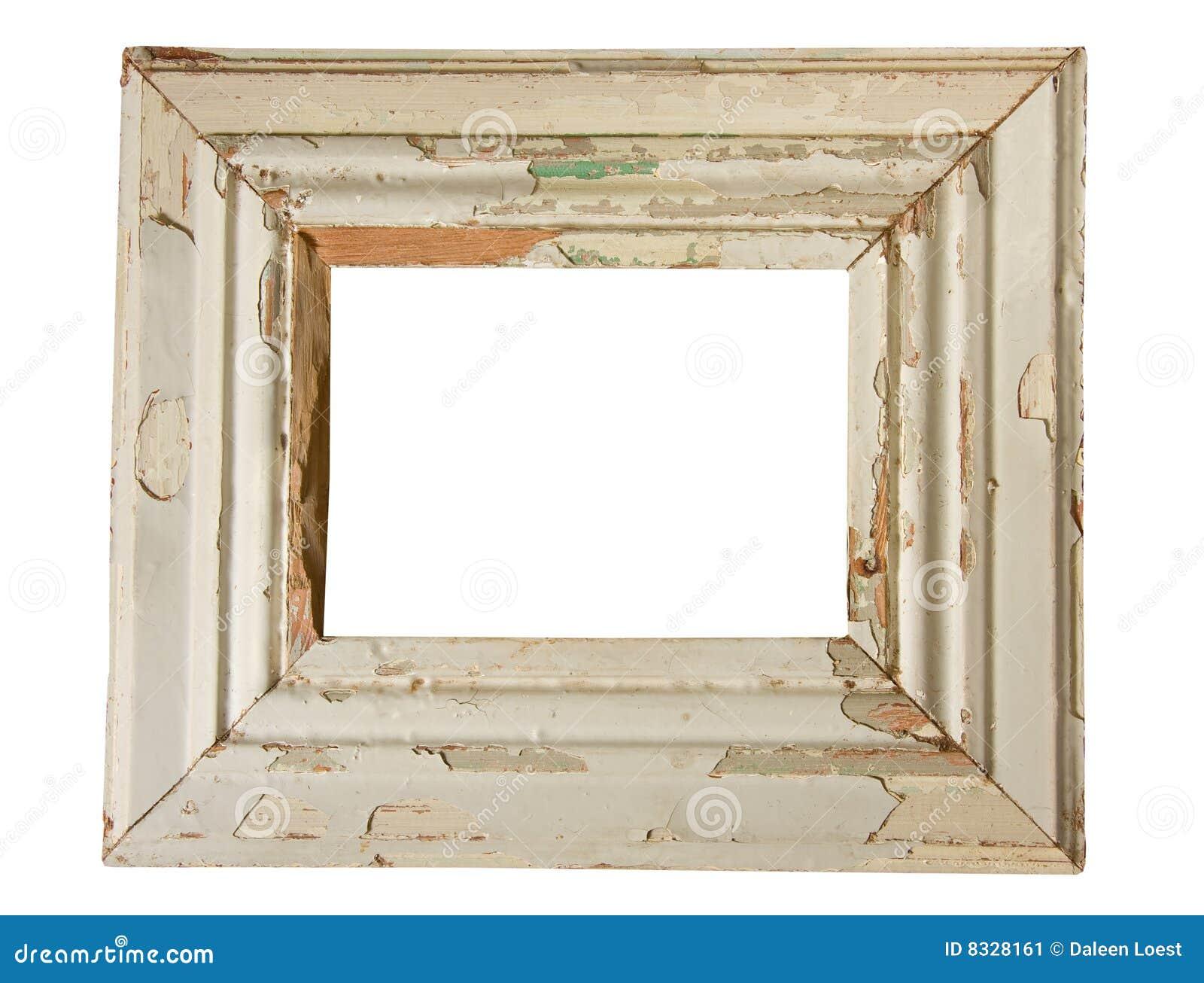 Verwitterter Holzrahmen stockbild. Bild von rand, einzeln - 8328161