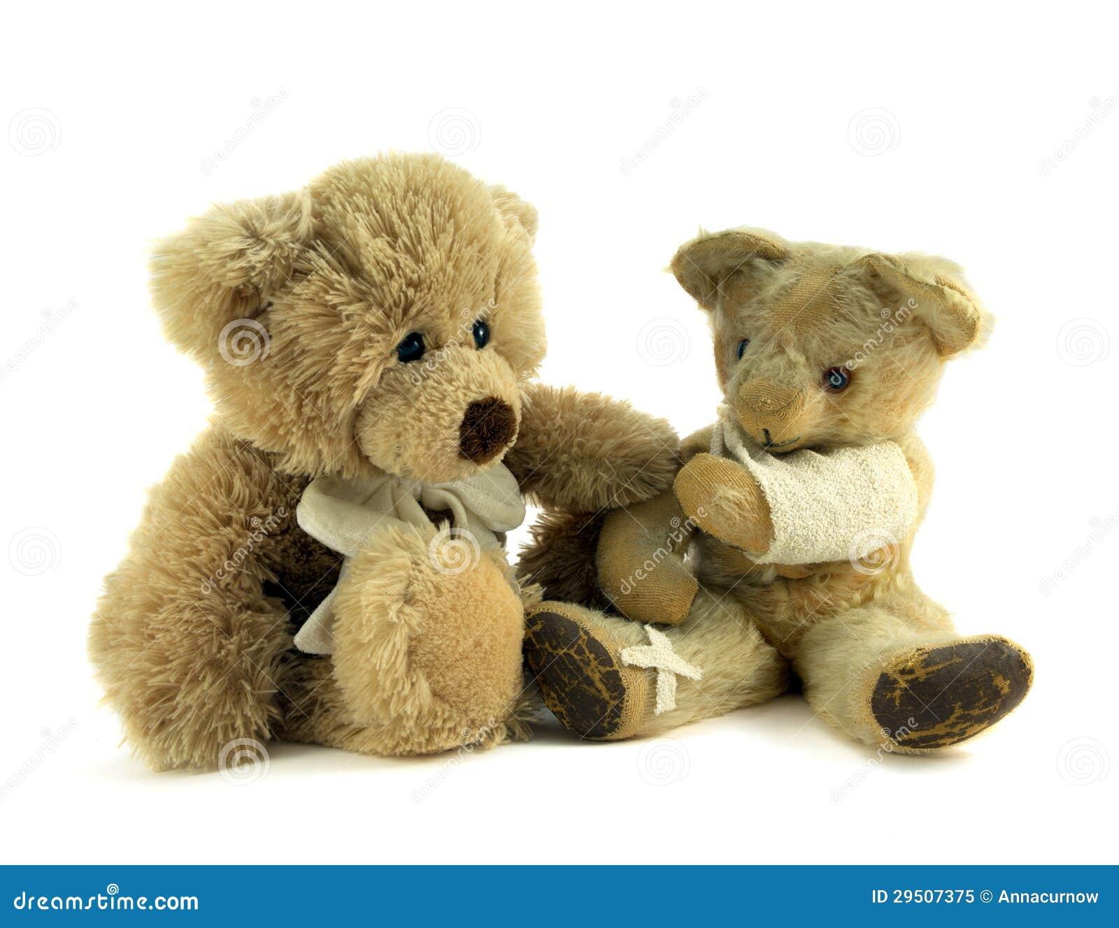 Verwonde teddy.