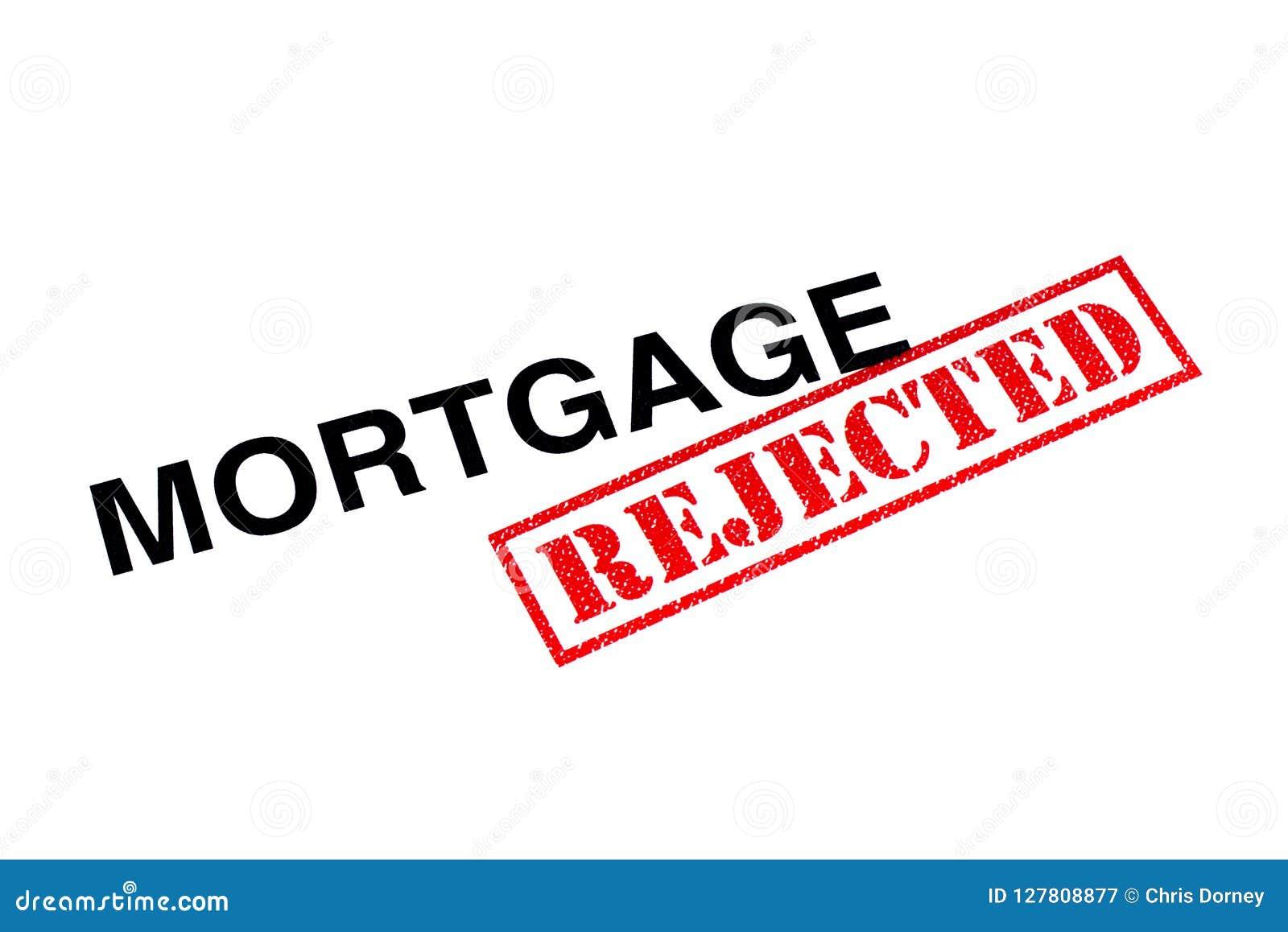 Verworpen hypotheek
