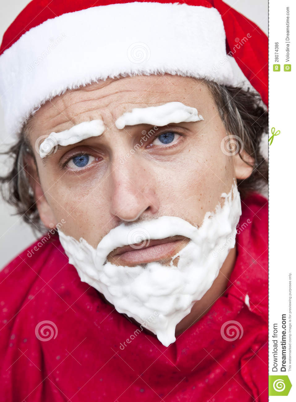 Very bad santa claus stock photo image of adult male