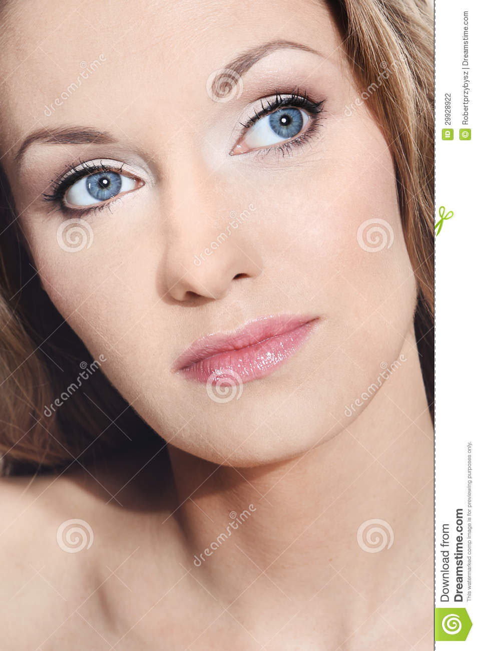 Very Beautiful Blond Teen Girl With: Very Beautiful Girl With Natural Beauty Stock Photography
