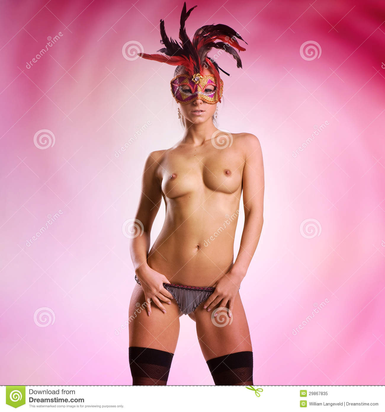 Consider, that Sexy naked women masks