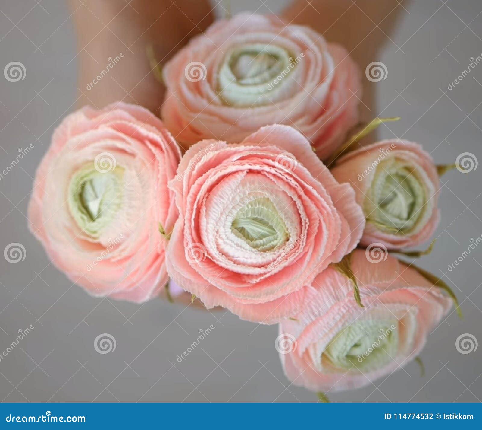 Very Beautiful Ranunculus Stock Photo Image Of Background 114774532