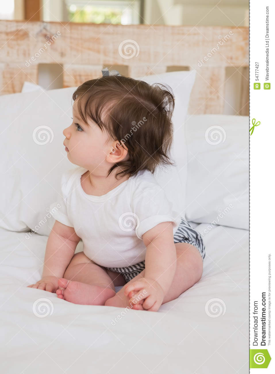 very beautufil cute baby girl stock image - image of cute, smiling