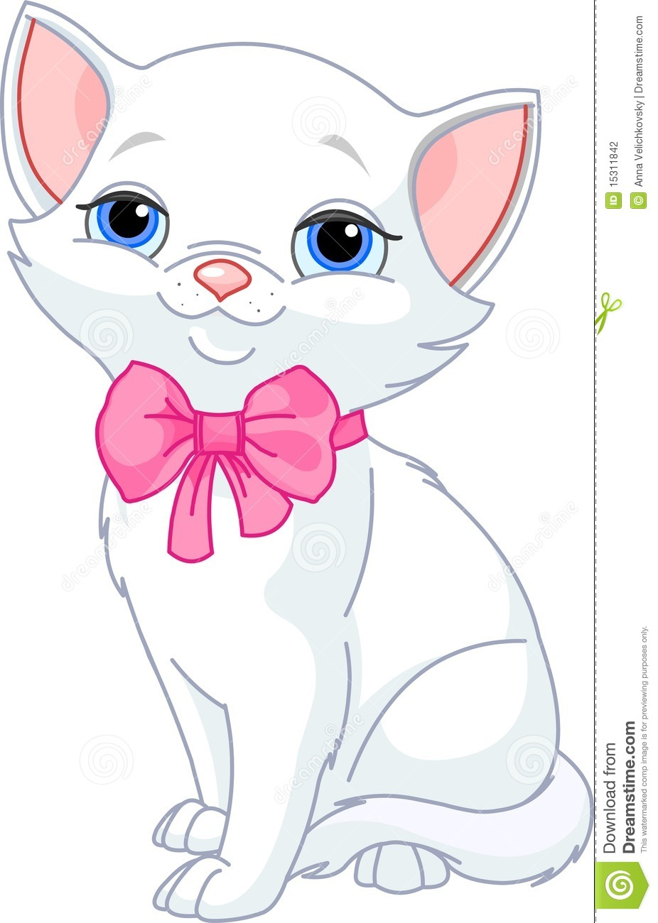 Very Cute White Cat Stock Photography - Image: 15311842