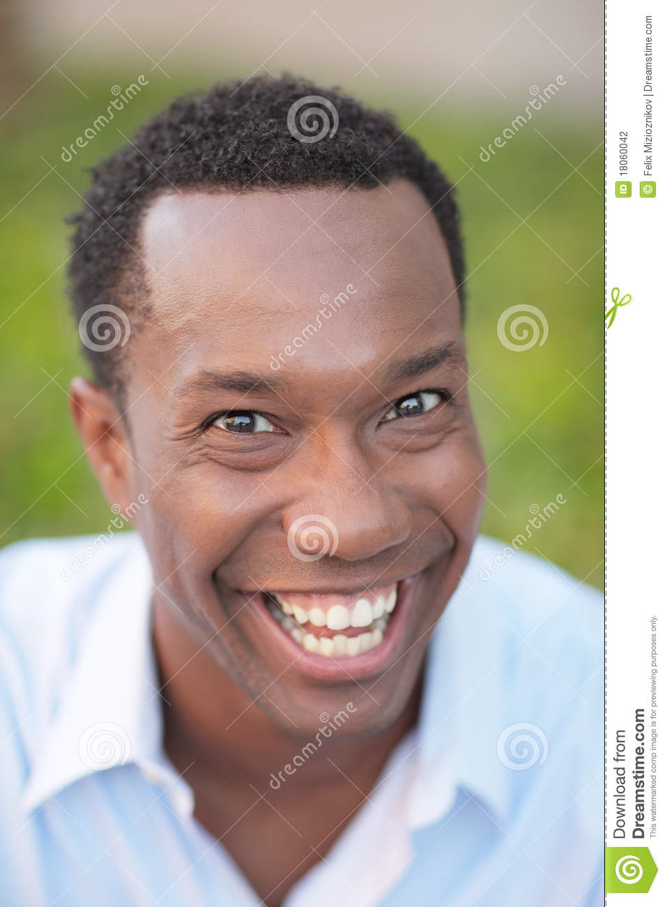 Very Happy Man Stock Photo  Image Of Male  African
