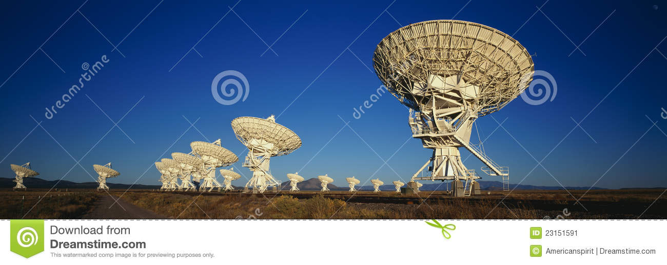 Very Large Array in Socorro, NM